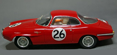 BSR023/2P Alfa Romeo Giulietta SS 1961 PAINTED BODY KIT - $105.99