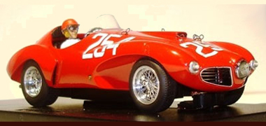 BSR026P Ferrari 166 Abarth, #254 red PAINTED BODY KIT