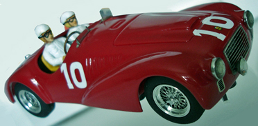 BSR032/2P Ferrari 166, Mille Miglia, painted KIT