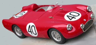 Osca, LeMans 1955, red #40, RTR