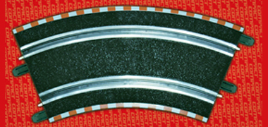 SCX C10023X200 1/43 scale outer curve track (4 sections)