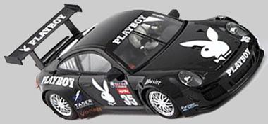 NSR 1143AW Porsche 997 #35 black, Playboy, Daytona 2007