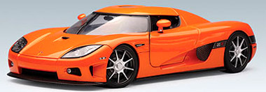 Autoart 13201 Koenigsegg CCX, orange