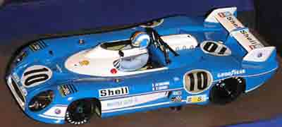 LeMans Miniatures 132037/10M Matra MS670B #10, LeMans 1973