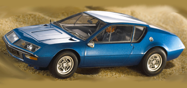LeMans Miniatures 132043B Alpine A310 road car, blue