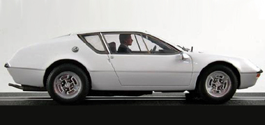 LeMans Miniatures 132043W Alpine A310 road car, white