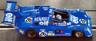LeMans Miniatures 132049 Alpine A441, LeMans 1975
