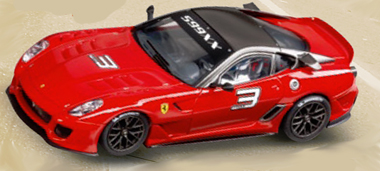 Carrera 23756 Ferrari 599XX, red, D124