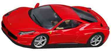 Carrera 27342 Ferrari 458 Italia, red