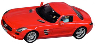 Carrera 27344 Mercedes SLS AMG, red