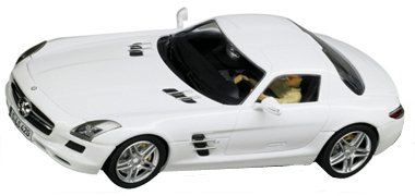 Carrera 27345 Mercedes SLS AMG, white