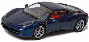 carrera 27362 ferrari 458 italia blue - Ferrari 458 Italia Blue