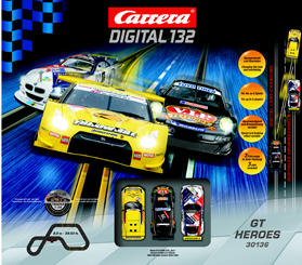 Carrera 30136 GT Heroes race set, Digital 132