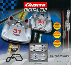 Carrera 30151 Streamline race set, Digital 132