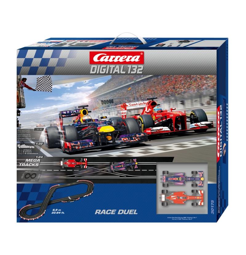 Carrera 30175 Race Duel Race Set, Digital 132 [30175
