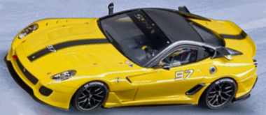 Carrera 30563 Ferrari 599XX, yellow, D132