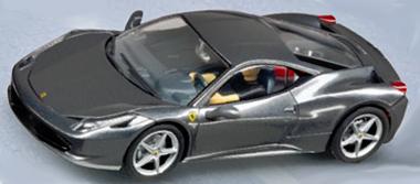 Carrera 30565 Ferrari 458, silver, D132