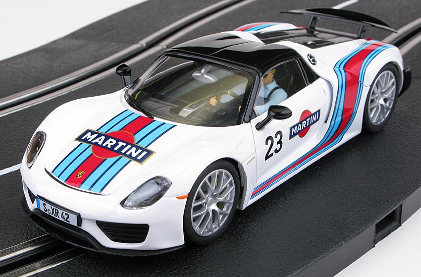carrera 27467 porsche 918 spyder martini racing 27467 electric dreams new. Black Bedroom Furniture Sets. Home Design Ideas