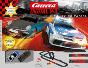 Carrera 40010 Police On Patrol race set, Digital 143