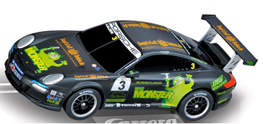 Carrera 41355 Porsche 997 Monster Energy Drink, Digital 143