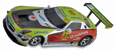 "Ninco 50604 Mercedes SLS GT3 Lightning ""Vodaphone"""