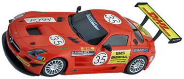 Ninco 55064 Mercedes SLS GT3 Black Falcon, Ninco1-Plus