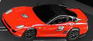 Carrera 61173 GO! Ferrari 599XX, red, 1/43 scale