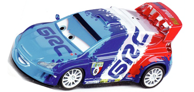 "Carrera 61198 GO! ""Cars 2"" Raoul Caroule 1/43"