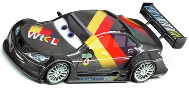 "Carrera 61199 GO! ""Cars 2"" Max Schnell, 1/43 scale"