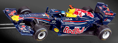Carrera 61236 GO! Red Bull F1, Vettel, 1/43 scale