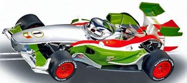 Carrera 61292 GO! Cars 2 Francesco Bernoulli, silver, 1/43 scale ...
