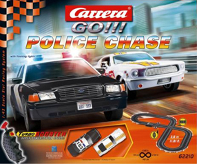 Carrera 62210 GO! Police chase race set 1/43 scale