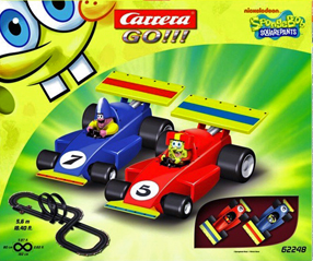 Carrera 62248 GO! Spongebob race set 1/43 scale