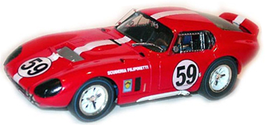 Monogram 85-4834 Cobra Daytona Coupe, #59 red