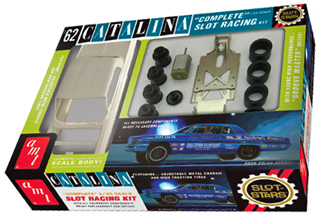 AMT 747 1962 Pontiac Catalina 1/25 scale slot car KIT