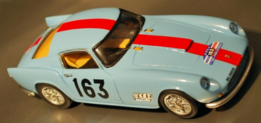 Proto Slot BSR016-1P Ferrari 250 TDF 1958 blue PAINTED BODY KIT
