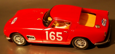 Proto Slot BSR016-3P Ferrari 250TDF 1958 red PAINTED BODY KIT