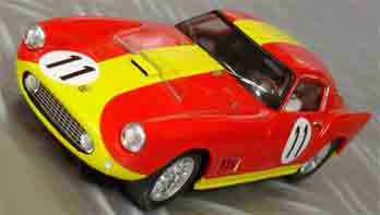 BSR017P Ferrari 250 GT LeMans 1959, painted body kit