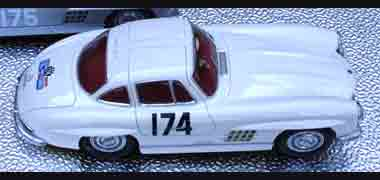 BSR021/1R Mercedes 300SL, Tour de France 1957, RTR