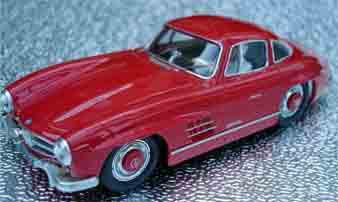 BSR022R Mercedes 300SL road car, RTR