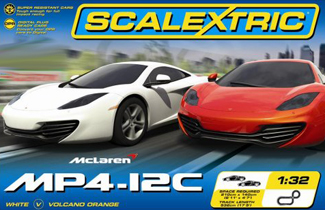 Scalextric C1284T McLaren MP4-12C race set