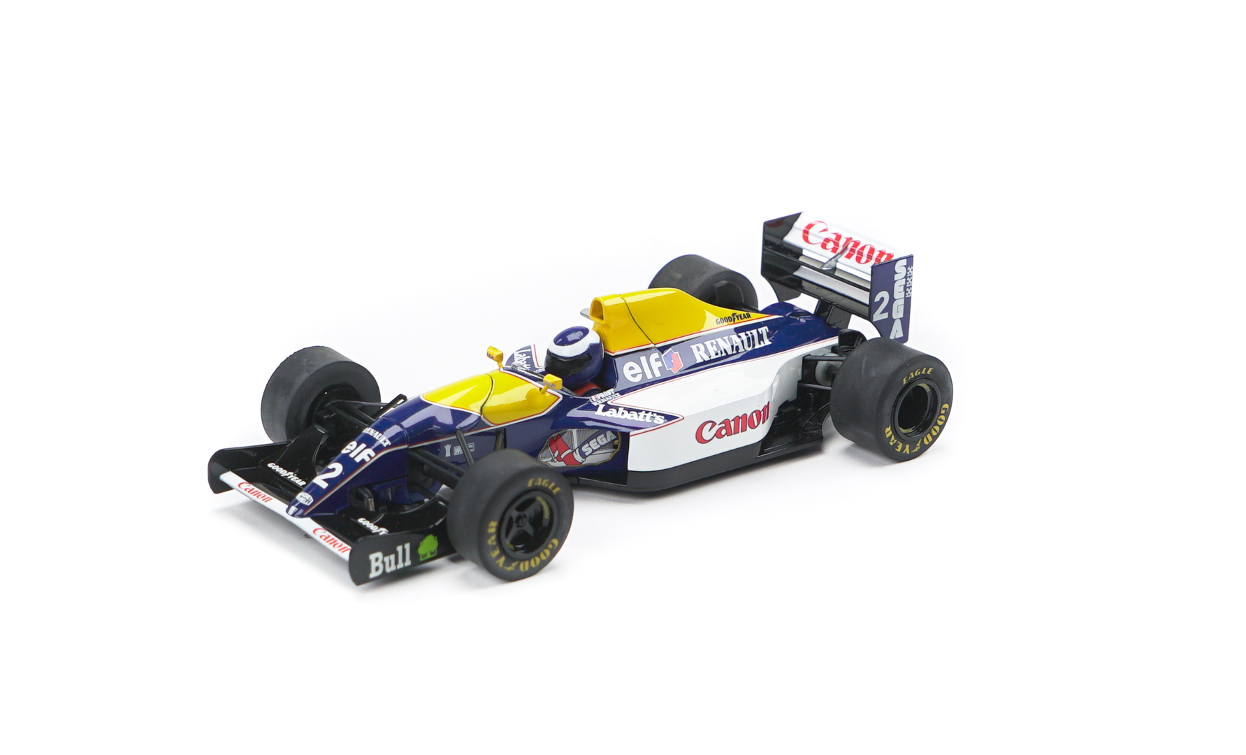 Scalextric C3094 Williams FW15C, 1993, Alain Prost