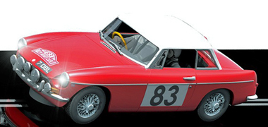 Scalextric C3143 MGB, red