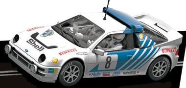 Scalextric C3156 Ford RS200, 1986