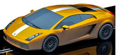 Scalextric C3178 Lamborghini Gallardo, gold