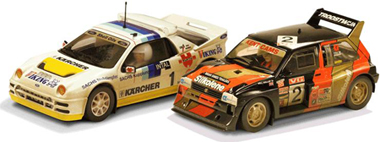 Scalextric C3267A Rallycross 2-car set