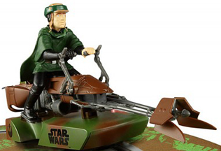 Scalextric C3298 Star WarsSpeeder Bike, Luke Skywalker