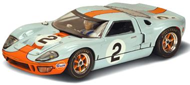 Scalextric C3325 Ford GT40 P1075, Daytona 1969