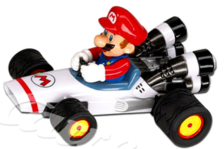 Carrera 61037 GO! Mario B-Dasher 1/43 scale