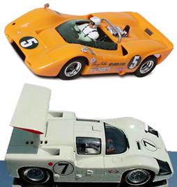 EDSET-22 McLaren M6A & MRRC Chaparral 2F 2-car pack